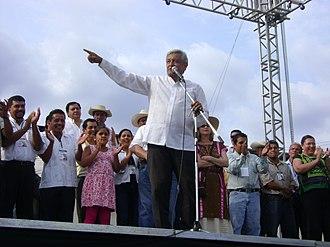 Andrés Manuel López Obrador - Andrés Manuel López Obrador 2012