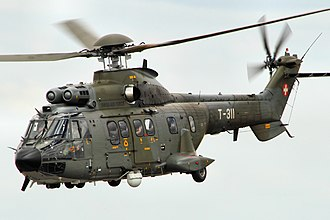 Eurocopter AS332 Super Puma - AS332M1 Super Puma of the Swiss Air Force