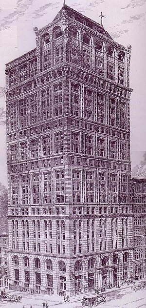 American Tract Society - The American Tract Society building in New York City