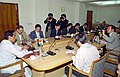 A 17-member delegation from the Japan National Press Club (JNPC) meeting with the Union Minister for Commerce and Industry, Shri Kamal Nath in New Delhi on March 9, 2005.jpg