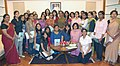 A Group of Students from the Department of Journalism of Lady Shri Ram College for Women, New Delhi meets the Speaker, Lok Sabha, Smt. Meira Kumar, in New Delhi on August 17, 2010.jpg