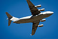 A U.S. Air Force C-17 Globemaster III aircraft flies over Geronimo Landing Zone during the Joint Readiness Training Center 14-03 field training exercise at Fort Polk, La., Jan 16, 2014 140116-F-XL333-009.jpg