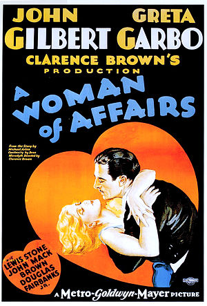 A Woman of Affairs - Film poster