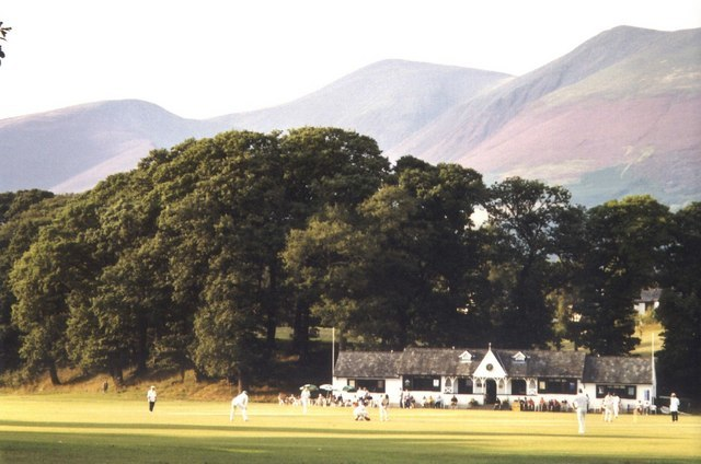A cricket match with a view - geograph.org.uk - 1040957