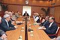 A delegation of Liberal Democrats Friends of India (LDFI), Members of Parliament (MPs) from British Parliament called on the Vice President, Shri Mohd. Hamid Ansari, in New Delhi on September 02, 2008.jpg