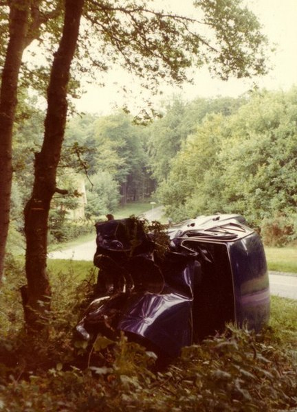 File:A fatal accident on the driveway to Borocourt Hospital