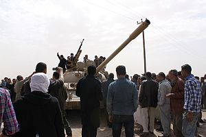 2011 military intervention in Libya - Libyan anti-government rebels, 1 March 2011