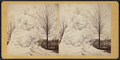 A frozen fountain in the square, New Britain, Conn, by William Allderige.png
