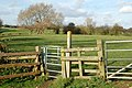 A kissing gate southwest of Hunningham village - geograph.org.uk - 1573884.jpg