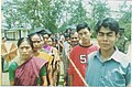 A long queue of voters in front of a polling booth of West Tripura Parliamentary Constituency during General Elections-2004 on April 22, 2004.jpg