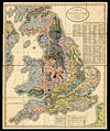 A new Geological map of England and Wales by William Smith (1820).jpg