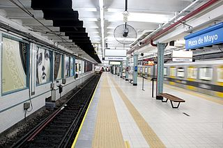 station of the Subte of Buenos Aires