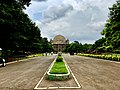 A view of Gol Gumbaz from Entry gate.jpg