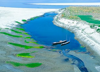 Jamuna River (Bangladesh) - A view of Jamuna River from Jamuna Bridge