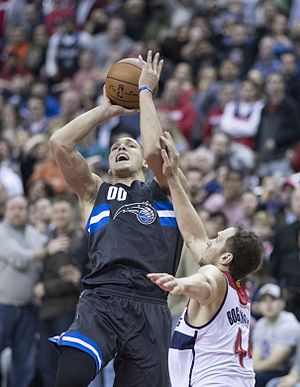 Aaron Gordon - Gordon with the Magic in March 2017