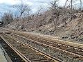 Abandoned platform at Newtonville station, March 2013.JPG