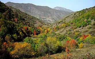 Abbasabad County - Image: Abbasabad Fall 2013 2