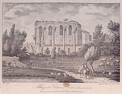 Abbaye de Fontaine-Jean de Saint-Maurice-sur-Aveyron gravure.jpg