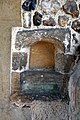 Abbess Roding - St Edmund's Church - Essex England - south porch 15th-century stoup.jpg