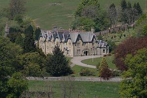 Abbey Cwmhir Hall - Abbey Cwmhir Hall in 2007