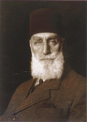 Abdulmejid II - Photo of Abdulmejid II during his exile