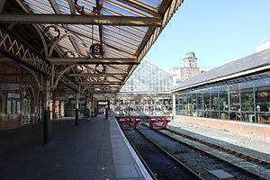Aberystwyth railway station - Image: Aberystwyth Station
