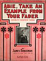 Abie, Take an Example From Your Fader 1909.jpg