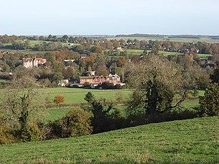Preshute Civil parish in Wiltshire, England