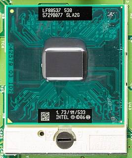 Merom (microprocessor) code name for various Intel processors that are sold as Core 2 Duo, Core 2 Solo, Pentium Dual-Core and Celeron