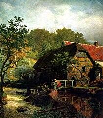 Moulin à eau de Westphalie