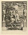 Achilles onderwezen door Chiron Geschiedenis van Achilles (serietitel), RP-P-OB-50.256.jpg