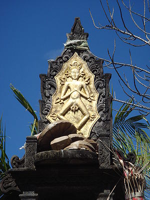 Balinese Hinduism - Depiction of Sang Hyang Widhi Wasa, the Supreme God of Balinese Hinduism.