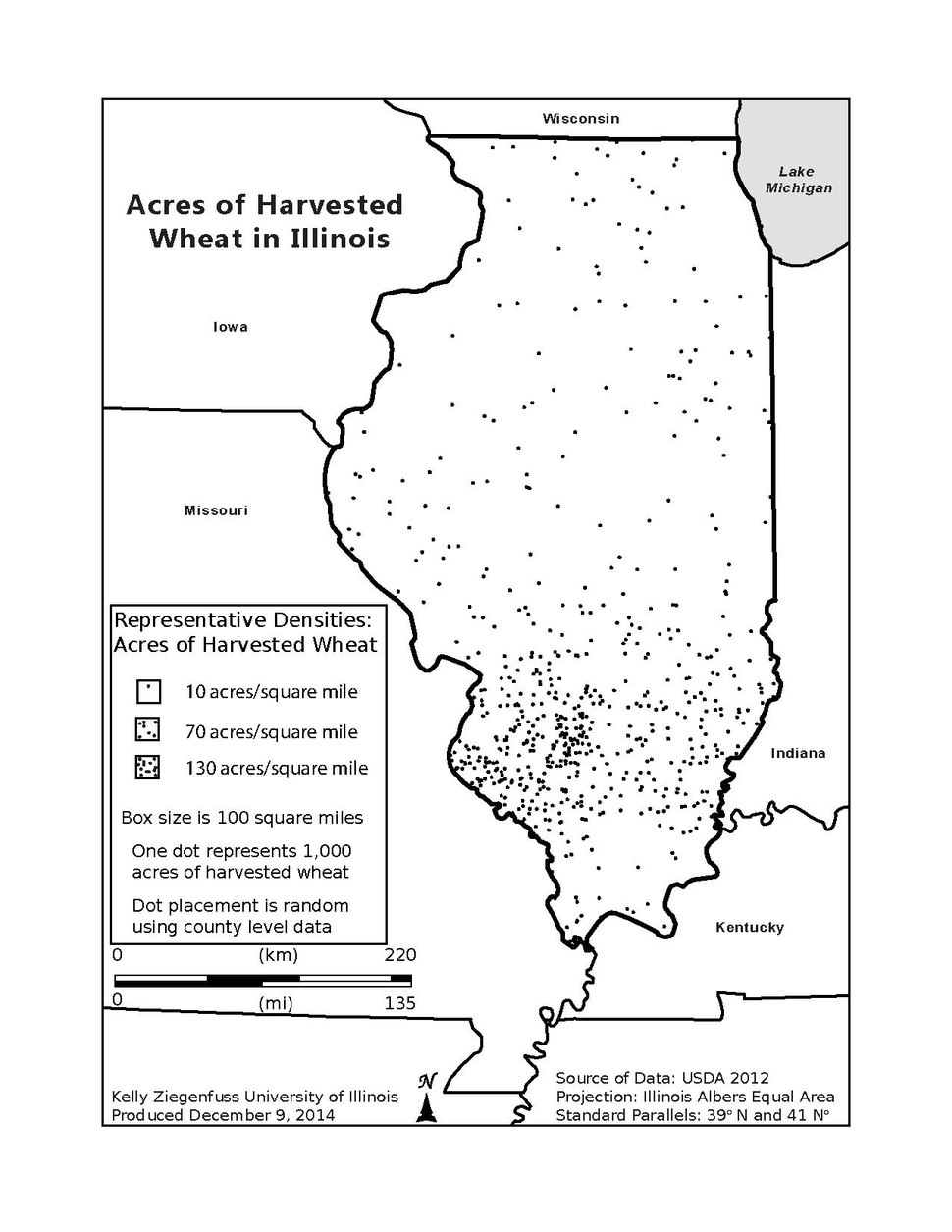 Acres of Harvested Wheat in Illinois in 2012.pdf