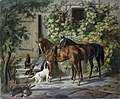 Adam, Albrecht - Horses at the PorchFXD.jpg