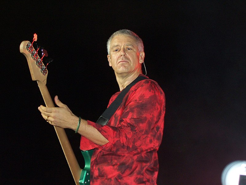 adam clayton, U2 bassist