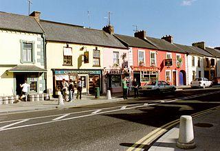 Adare Village in County Limerick, Munster, Ireland