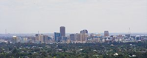 {{en|Adelaide skyline from Carrick Hill. Taken...
