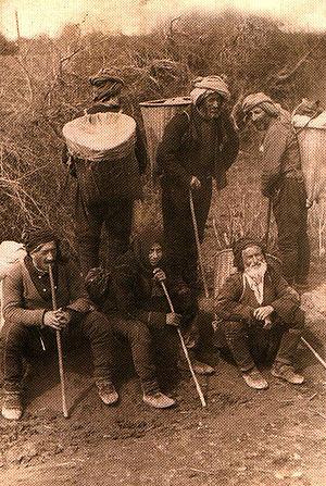 History of Adjara - Adjarian peasants in the 1900s.