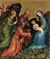 Adoracja Dzieciątka przez Trzech Króli