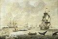 Adriaen van Salm (c.1660-1720) - A Fleet of Whalers - BHC0954 - Royal Museums Greenwich.jpg