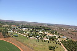 A view of the town of Orania