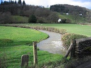 Llansanffraid Glyndyfrdwy village in Wales