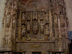Afonso I of Portugal - Tomb of Afonso Henriques in the Santa Cruz Monastery in Coimbra.
