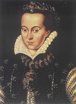 After Anthony Mor - Portrait of Anna of Saxony