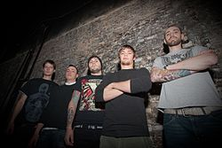 After the Burial vor einem Auftritt in St.Paul