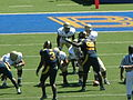 Aggies on offense at UC Davis at Cal 2010-09-04 5.JPG