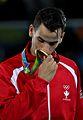 Ahmad Abughaush, 2016 Summer Olympics in Rio de Janeiro, men's 73 kg,.jpg