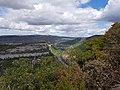 Ain depuis le Mont Balvay (Leyssard) vue nord 2.jpg