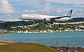 Air New Zealand's new 777-300ER visits Wellington, 9th. Feb. 2011 - Flickr - PhillipC (1).jpg