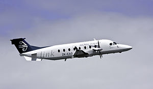 Beechcraft 1900 - An Eagle Airways Beechcraft 1900D
